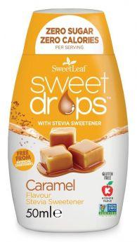 SweetLeaf Sweet Drops Caramel 50ml x12