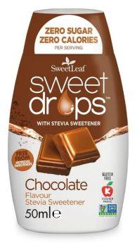 SweetLeaf Sweet Drops Chocolate 50ml x12