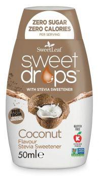 SweetLeaf Sweet Drops Coconut 50ml x12