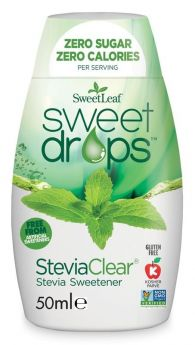SweetLeaf Sweet Drops SteviaClear 50ml x12