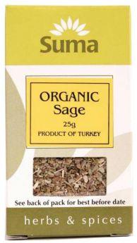 Suma Organic Sage (6x25g)
