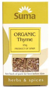 Suma Organic Thyme (6x25g)