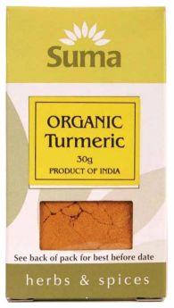 Suma Organic Turmeric (6x30g)