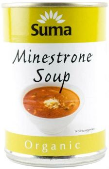 Suma Organic Minestrone Soup (12x400g)