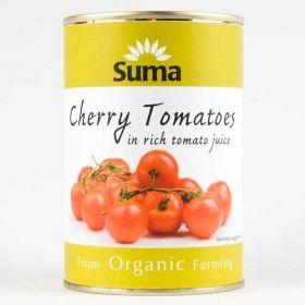 Suma Organic Cherry Tomatoes (12x400g)
