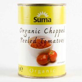Suma Organic Chopped Tomatoes (12x400g)