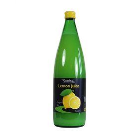 Sunita Lemon & Lime Juice Organic Lemon Juice