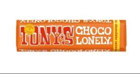 Tony's Chocolonely Fairtrade Milk Chocolate Caramel and Sea Salt 47gx35