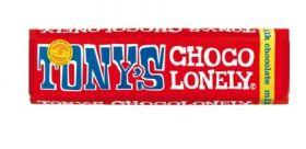 Tony's Chocolonely Fairtrade Caramel and Sea Salt Milk Chocolate 47g x35