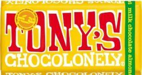 Tony's Chocolonely Dark Milk Chocolate, Pretzel & Toffee 42% 180g x15