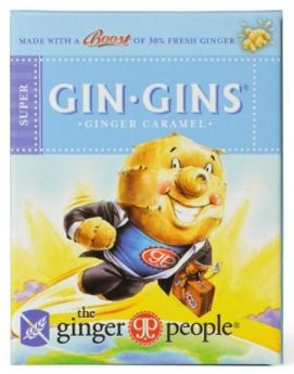 The Ginger People Gin Gins Spicy Apple Candy 84g x12