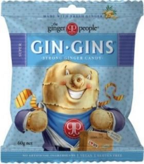 The Ginger People Gin Gins Chewy Ginger Coffee Candy 42g x24