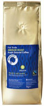 Traidcraft Fair Trade Medium Roast Ground Catering pack (1kg)