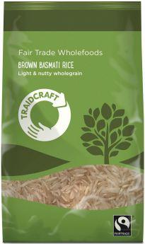 Traidcraft Fair Trade Brown Basmati Rice (6x1kg)