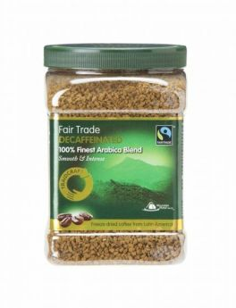 Traidcraft Fair Trade Medium Roast Freeze Dried Coffee 100g x6