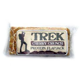 Trek Crunchy Oat Flapjack (12x56g)1