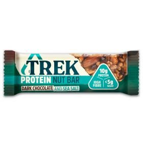 Trek Protein Nut Bar- Dark Chocolate & Sea Salt 40g x16