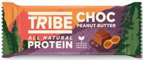 TRIBE Choc Peanut Butter Vegan Protein Bar (50gx16)