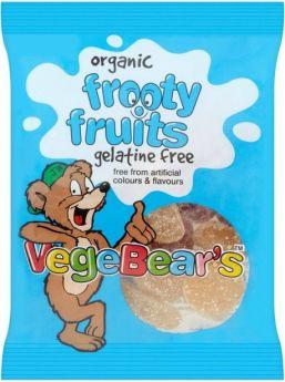 VegeBear's Organic Fruit Jellies 100g x8