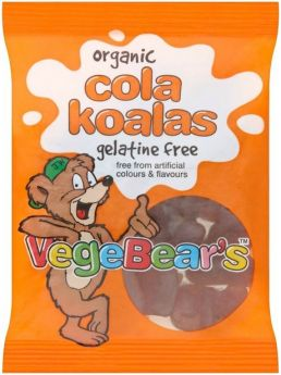 VegeBear's Organic Frooty Fruits 100g x8