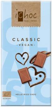 iChoc Organic Classic Rice Chocolate 80g x10