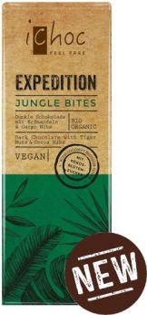 iChoc Organic White Vanilla Rice Chocolate 80g x10