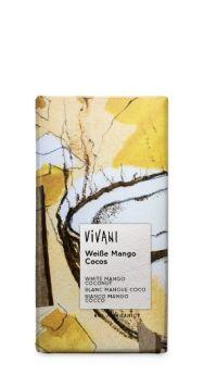 Vivani Organic Superior Milk Ecuador Chocolate 100g x10