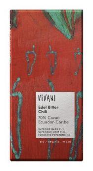 Vivani Organic Superior Dark 70% Cocoa Ecuador Chocolate 100g x10
