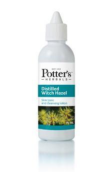 Potter's Herbals Distilled Witch Hazel 75ml x5