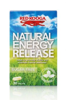 Red Kooga Natural Energy Release Tablets 30's x6