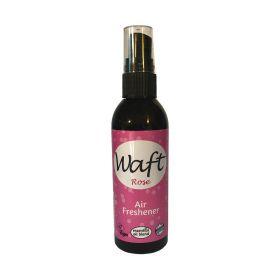Waft Air Freshener Spray Rose 100ml x6