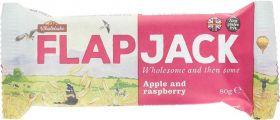 Wholebake Apple and Raspberry Flapjack 80g x20