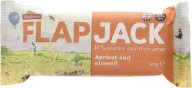 Wholebake Apricot and Almond Flapjack 80g x20