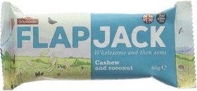 Wholebake Cashew and Coconut Flapjack 80g x20