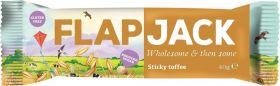 Wholebake Sticky Toffee Reduced Sugar Flapjack 40g x20