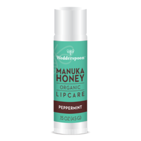 Wedderspoon Manuka Lip Balm - Mint (20 display box) 4.5g x20