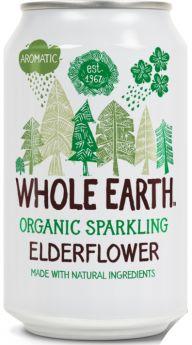 Whole Earth Organic Elderflower (24x330ml)