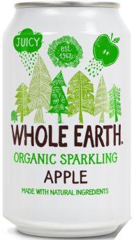 Whole Earth Organic Lightly Sparkling Apple Drink 330ml x24