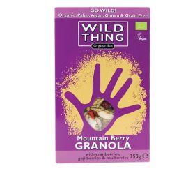 Wild Thing Organic Mountain Berry Paleo Granola 350g x6