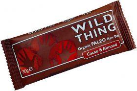 Wild Thing Organic Coconut & Chia Raw Paleo Bar 30g x20