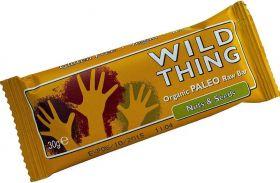 Wild Thing Organic Cacao & Almond Raw Paleo Bar 30g x20