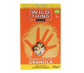 Wild Thing Organic Equatorial Cacao Paleo Granola 350g x6