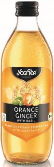 Yogi Tea Orange Ginger Cold Tea Organic 330ml x10