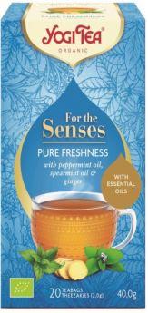 Yogi Tea Pure Freshness 40g (20's) x6