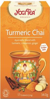 Yogi Tea Turmeric Chai 34g (17's) x6