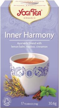 Yogi Tea Inner Harmony - 30.6g (17's) x6