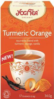 Yogi Tea Turmeric Orange 34g (17's) x6