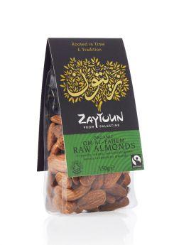 Zaytoun Fair Trade Almonds 150g x6
